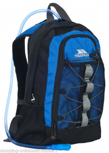 Trespass Slake Hydro 19 Litre Day Bag with 2 Litre Hydration Bladder